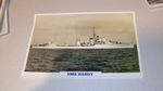 HMS Hardy 1936 British warship framed picture